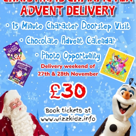 Christmas Character Advent Delivery